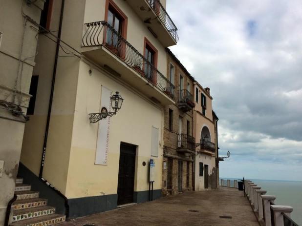 Vasto, casa di Gabriele Rossetti, marzo 2015