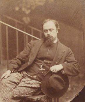 Dante Gabriel Rossetti, 1863, National Portrait Gallery, Londra