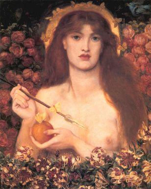Dante Gabriel Rossetti, Venere Verticordia, 1866