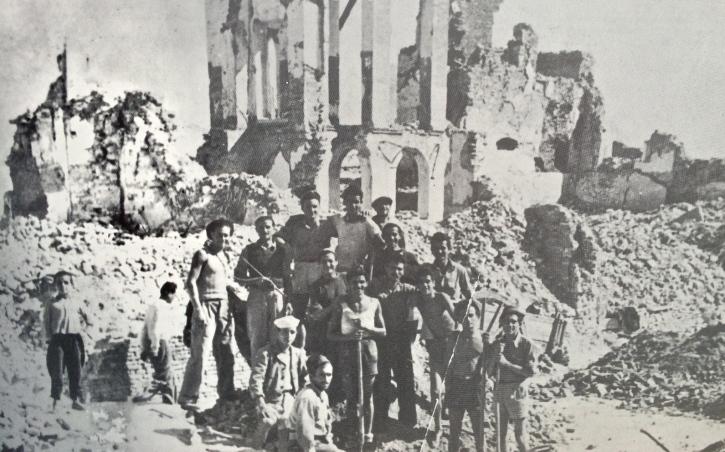 Resti dell'Istituto delle Suore, asilo infantile, nel paese alto di Francavilla al Mare