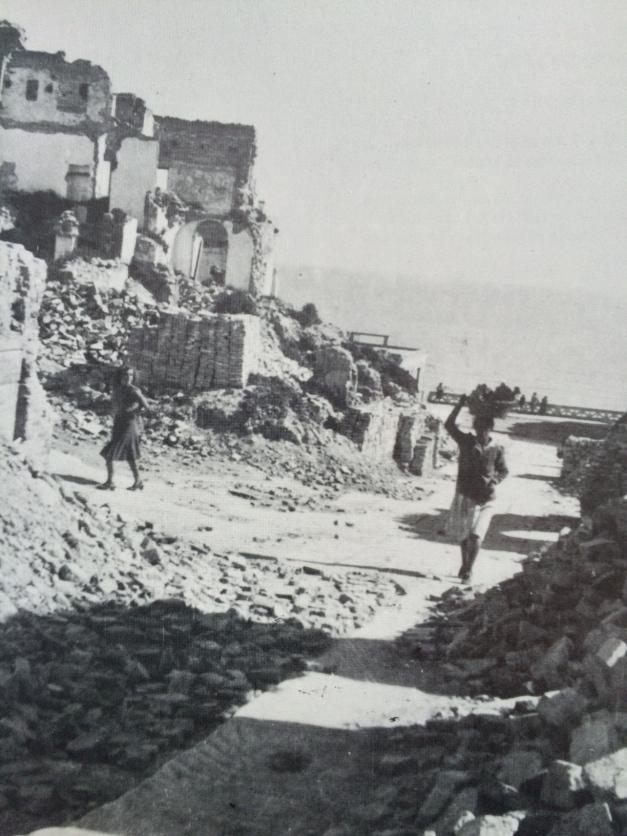 Estate 1944, nei pressi dell'Istituto delle Suore, Francavilla al Mare