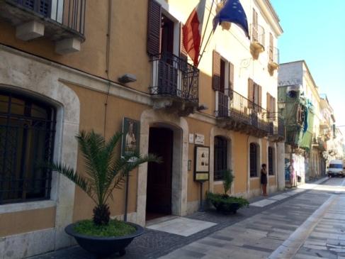 Casa natale di Gabriele D'Annunzio, Pescara, agosto 2014