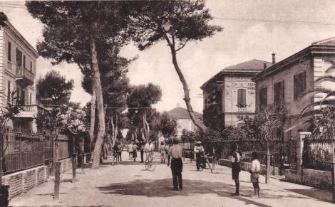 Francavilla al Mare, Viale Nettuno, anni '30