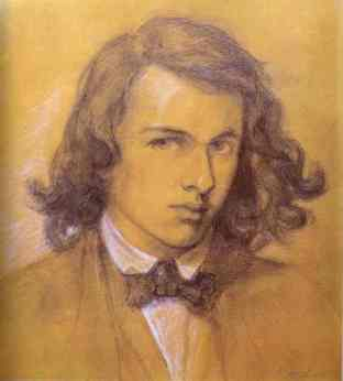 Dante Gabriel Rossetti, autoritratto, 1847
