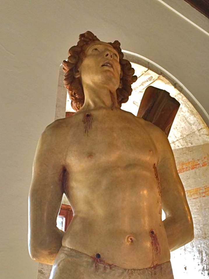 Silvestro dell'Aquila, San Sebastiano 1478 – giugno 2015