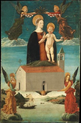 Saturnino Gatti, Trasporto delle Santa Casa, 1510 - Metropolitan Museum New York