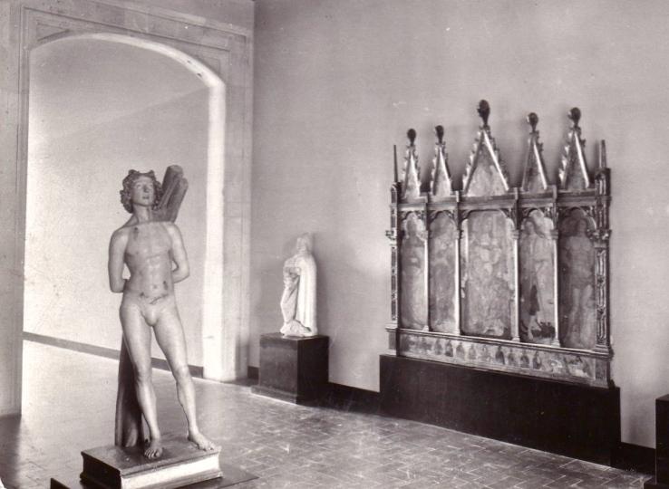 San Sebastiano, Silvestro dell'Aquila, foto d'epoca