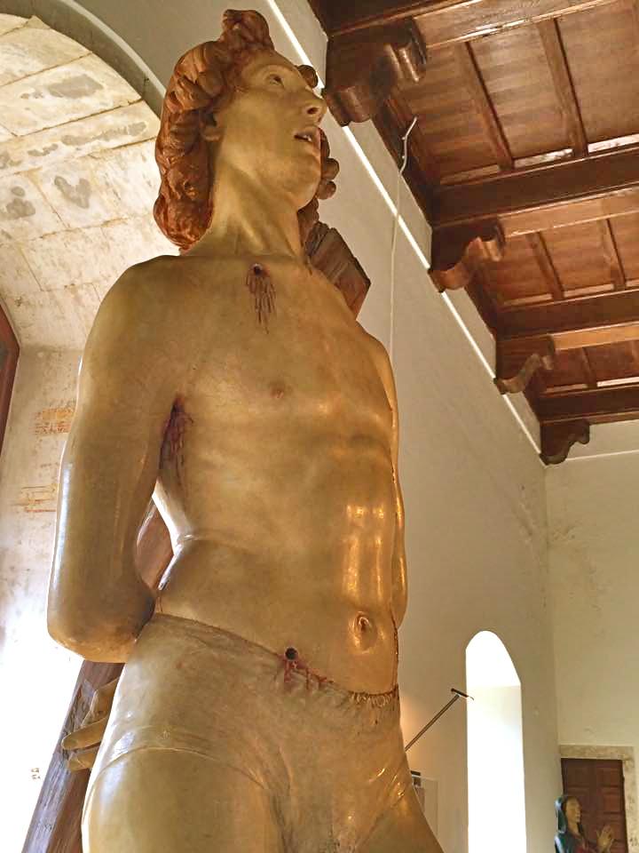 Silvestro dell'Aquila, San Sebastiano, 1478 - giugno 2015