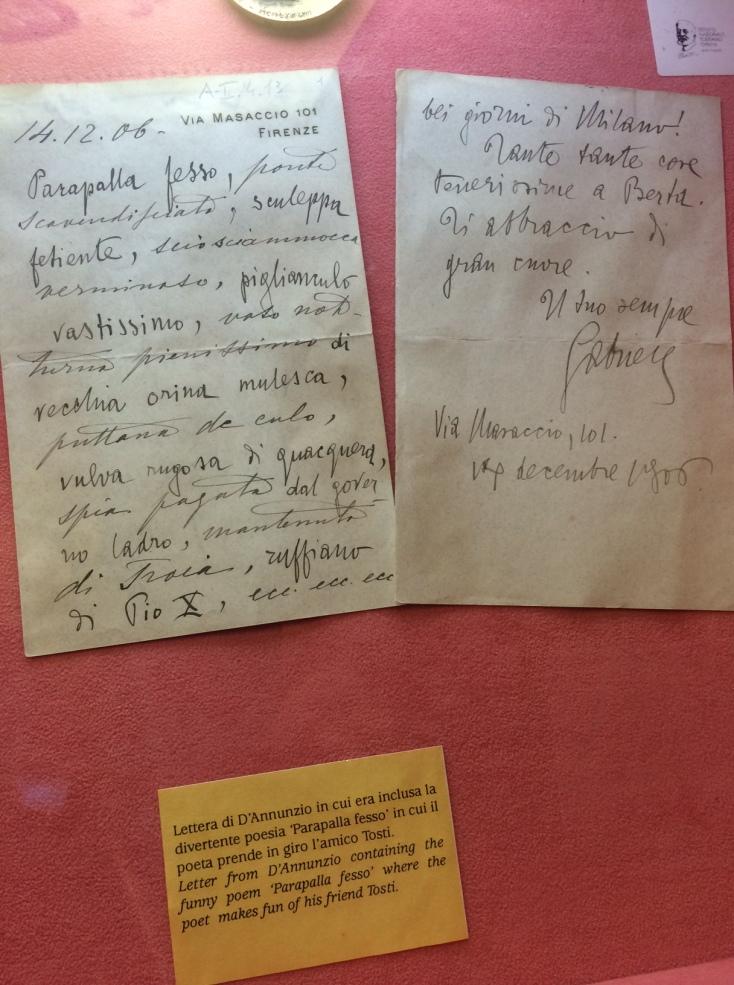 Museo Tosti - Ortona - Novembre 2014
