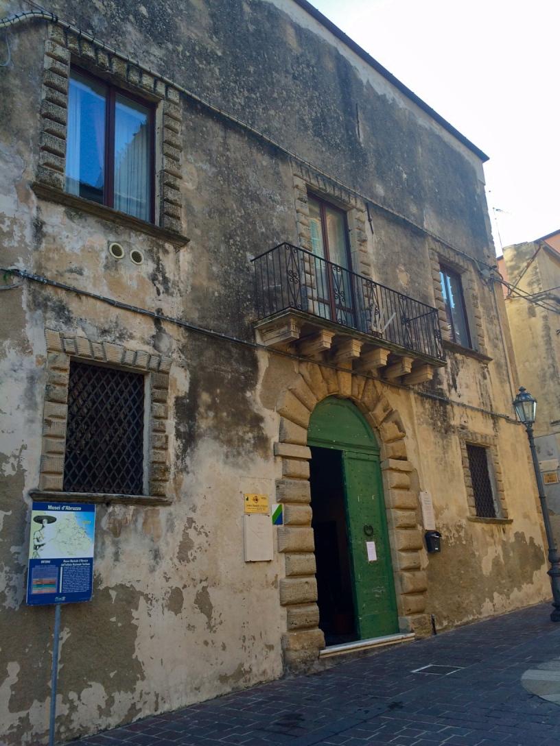 Palazzo Corvo - Ortona - novembre 2014