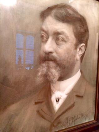 F.P.Tosti in un ritratto di Michetti, Museo Barbella, Chieti - febbraio 2015