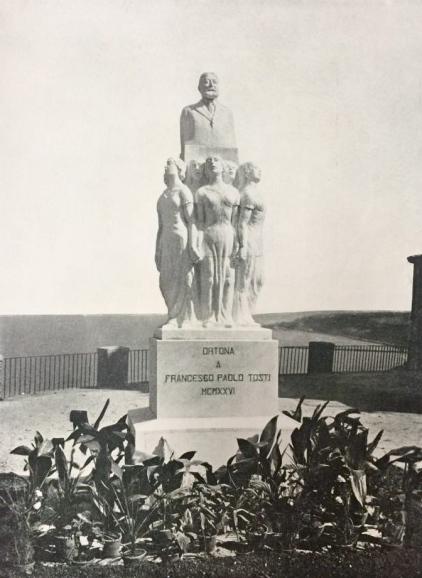 Ortona, monumento a F.P.Tosti, ubicazione anni '30 (1)