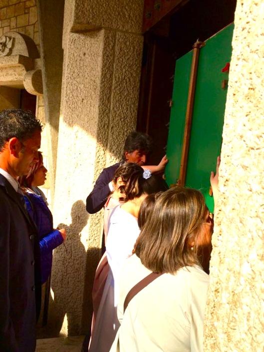 Chiesa di San Franco, Francavilla al Mare, maggio 2015, arrivo dei pellegrini
