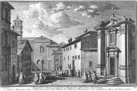 Giuseppe Vasi, Sant'Egidio in Trastevere