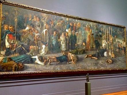 Il Voto, F.P.Michetti, 1883 – Roma, Galleria Arte Moderna – marzo 2015