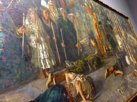 F.P.Michetti, Il Voto, Galleria Arte Moderna, Roma, marzo 2015