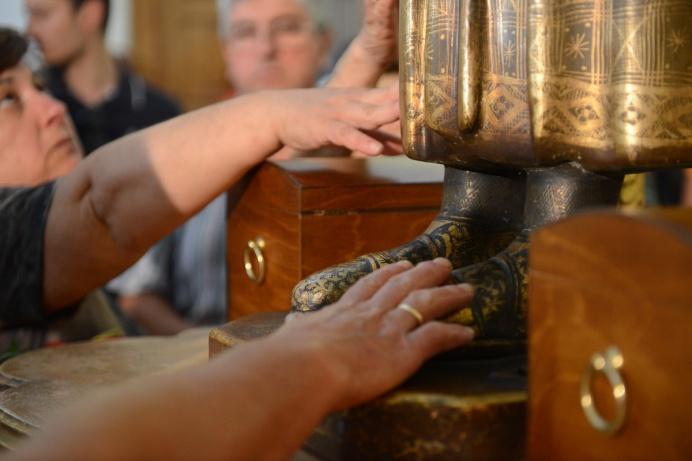 Santuario di San Pantaleone, Esposizione, luglio 2015