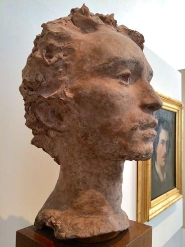 Vincenzo Gemito, busto di F.P.Michetti, 1873 - Roma, Galleria Nazionale Arte Moderna, marzo 2015