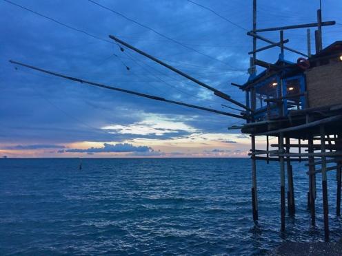 San Vito Marina, tramonto, maggio 2015