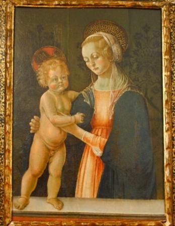 Saturnino Gatti, Madonna con Bambino, collezione privata Banca Popolare Modena