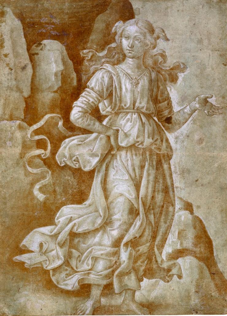 Musa della Roccia, concessione Royal Library Windsor Castle