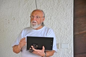 Pietro Cupido, Eremo Dannunziano, luglio 2015