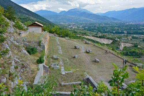 Villa di Ovidio - Monte Morrone, settembre 2015