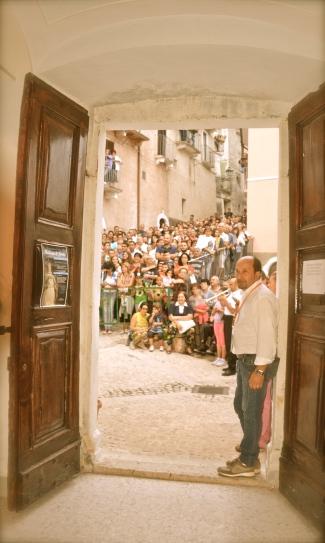Corsa degli Zingari, l'attesa del vincitore - Pacentro, settembre 2015