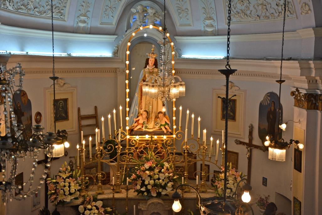 Chiesa della Madonna di Loreto - Pacentro, settembre 2015