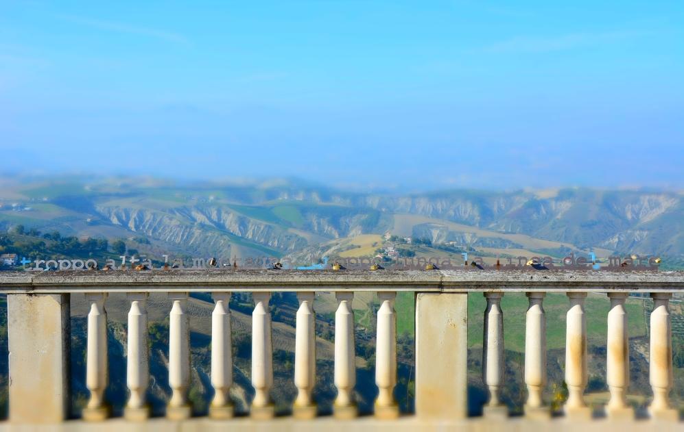 Atri, panorama sulle colline del teramano - Novembre 2015