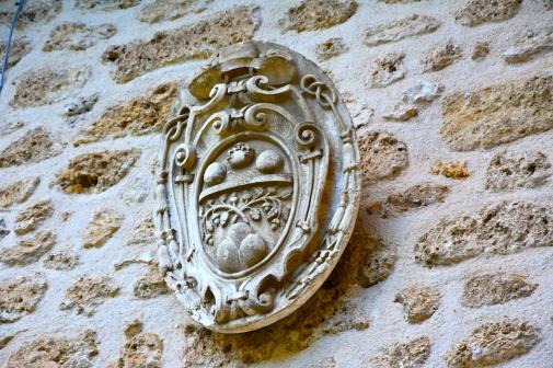Emblema Branconio presso San Clemente a Casauria - ottobre 2015
