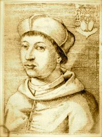 Galeotto Franciotti della Rovere in una stampa d'epoca