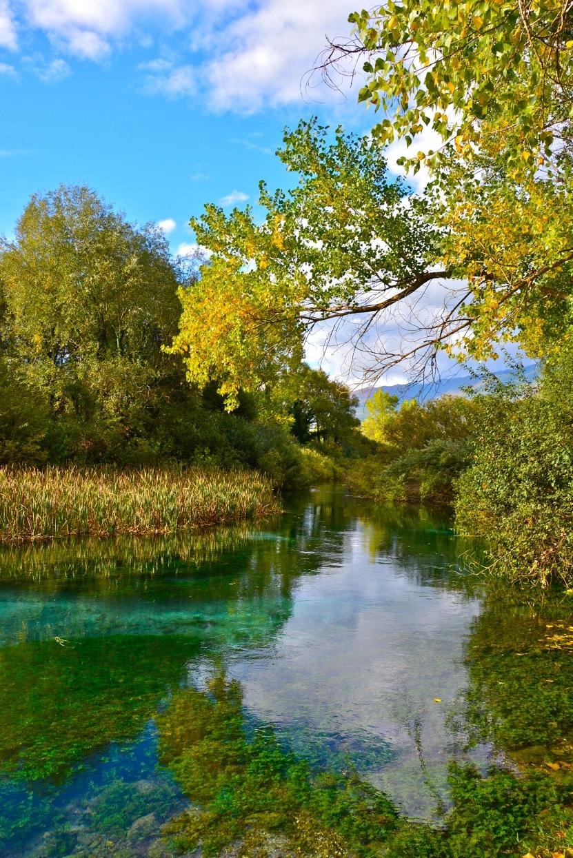 Sorgenti fiume Tirino - Capestrano, ottobre 2015