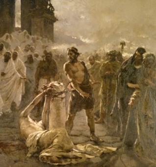 Decapitazione di San Paolo - Enrique Simonet, 1887