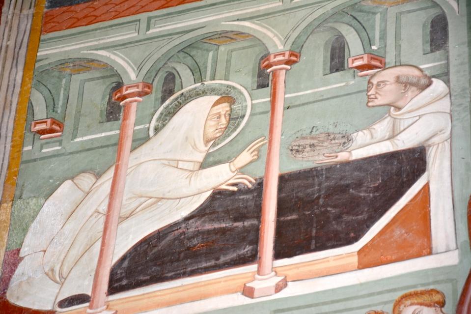 Vita di San Tommaso d'Aquino, chiesa di Santa Maria in Piano, Loreto Aprutino, gennaio 2016