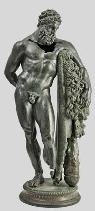 Hercules statue, Third century BC - Villa Frigerj Museum - Chieti - Italy