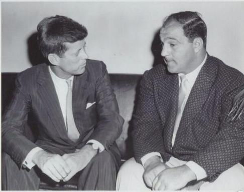 Rocky Marciano and J.F.Kennedy