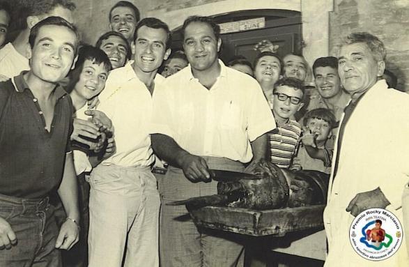 Rocky Marciano visit to Ripa Teatina – Italy – 1964 (Ripa Teatina Municipal Photo Archive)