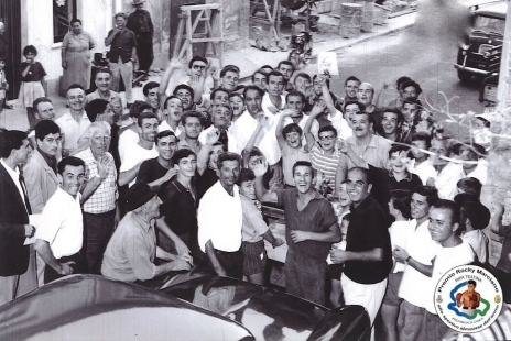 Rocky Marciano a Ripa Teatina, 1964 (Archivio Comune di Ripa Teatina)