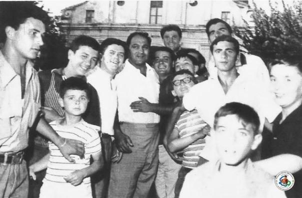 Rocky Marciano visit to Ripa Teatina - Italy - 1964 (Ripa Teatina Municipal Photo Archive)