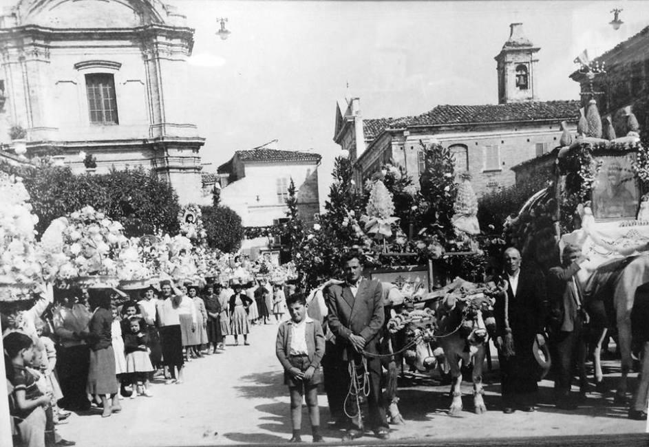 Festa dei Banderesi, foto d'epoca