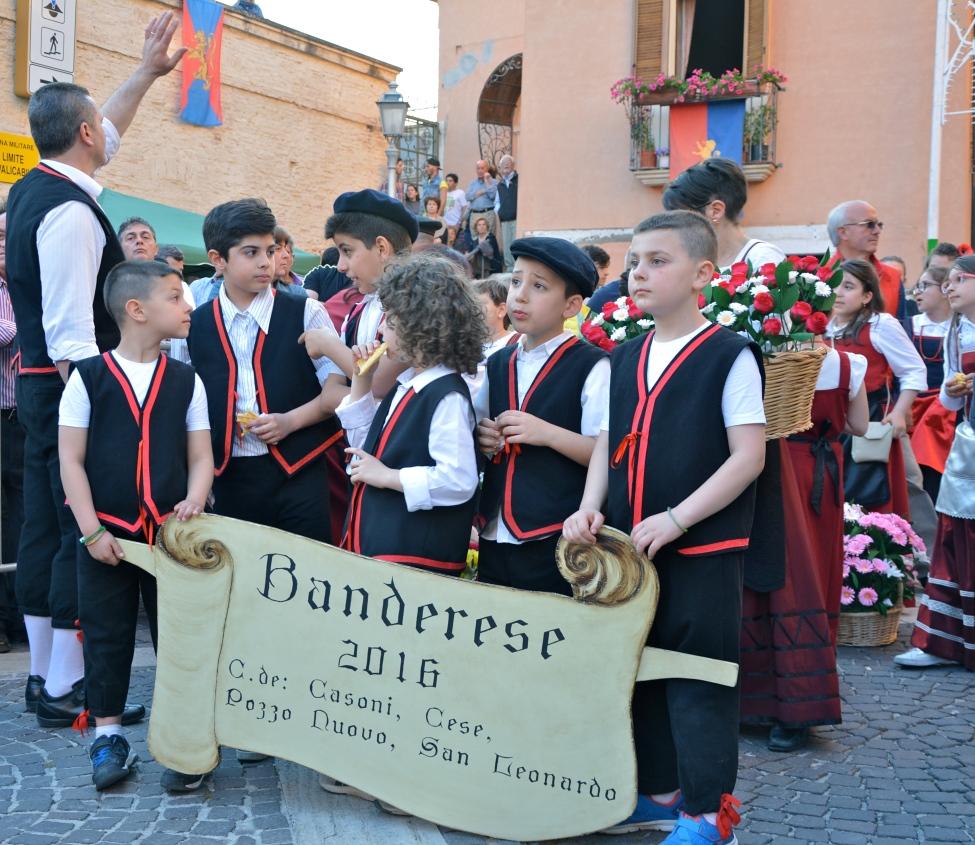 Bucchianico, Festa dei Banderesi, maggio 2016