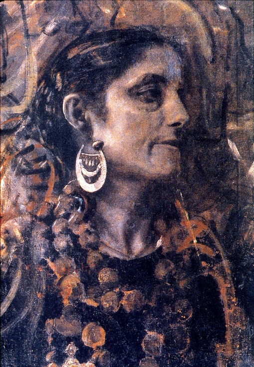 Donna abruzzese - Francesco Paolo Michetti, 1889 - foto Gino Di Paolo